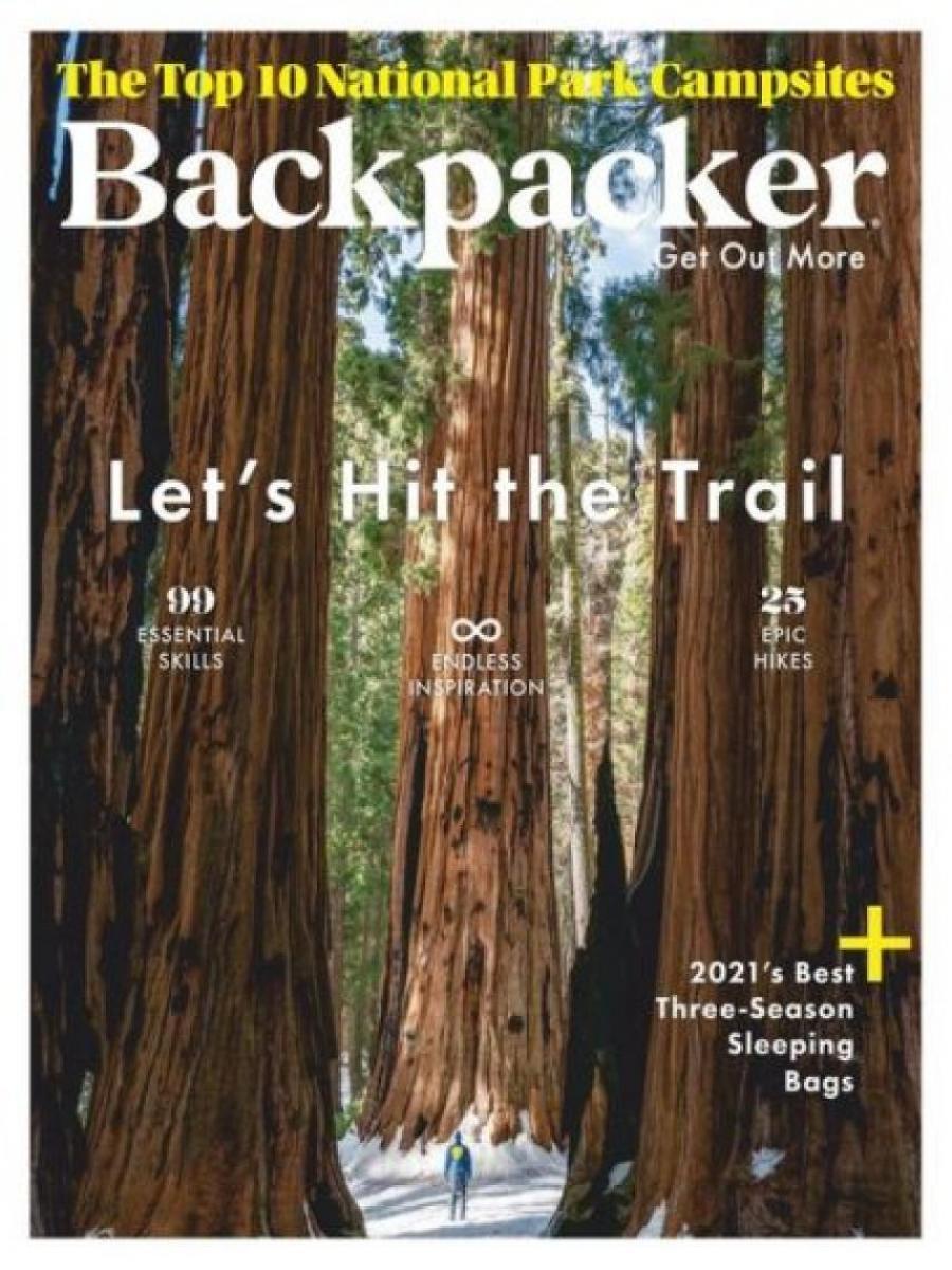 forside af backpacker tidsskrift