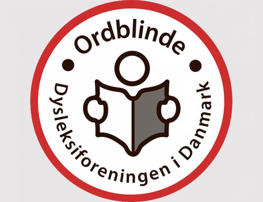 ordblindeforeningen logo