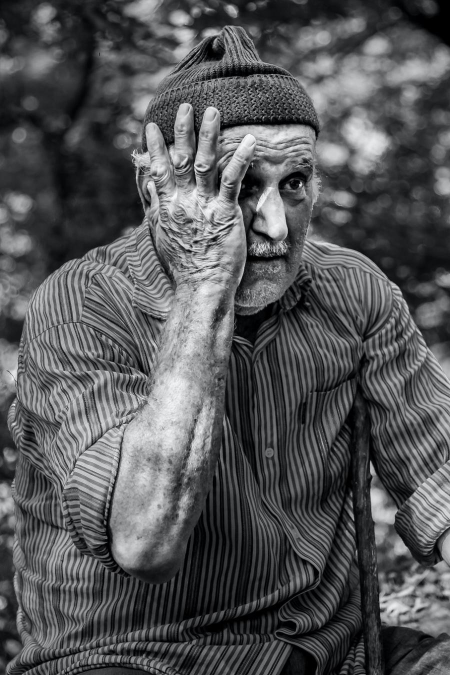 gammel mand